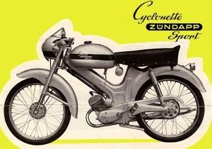 Cyclonette Sport met Zündapp motor 1960