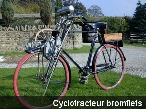 Cyclotracteur  bromfiets