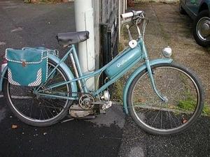 Griffon motor op een Peugeot fiets