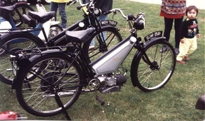 Francis Barnett power bike K50  1939