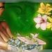 een doosje bloemen