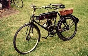 JES. gemotoriseerde fiets