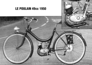lepoulain Frankrijk 1950
