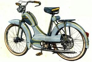 Manufrance Fietsrobot 59 selection 1957