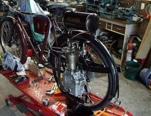 Merkel Wiel motor 1917