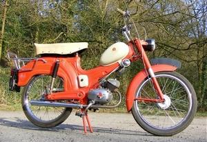 Motobi 3V de Luxe 1965