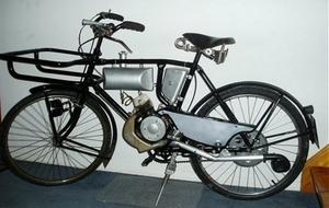 Levules op een Hercules fiets