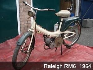 Raleigh RM6  1964
