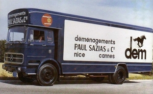MERCEDES-BENZ 1924 PAUL SAZIAS%CO NICE (F)