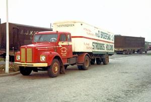 Scania  Koel Oplegger