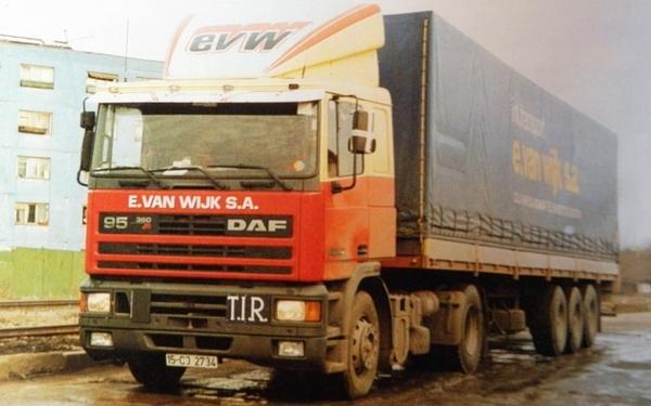 DAF-95 E.van WIJK (NL)