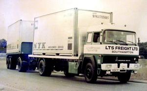 MAGIRUS-DEUTZ  LTS FREIGHT LTD SOUTHAMPTON
