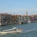 Italië; Venetië gefotografeerd vanuit het restaurant