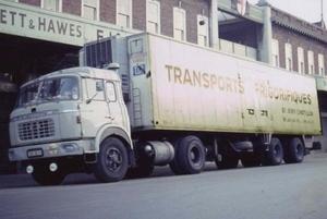 BERLIET TRANSPORTS RIGORIFIQUES (F)