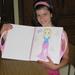 08) Sarah fier met modeboek