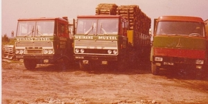 2 X DAF 2600 en Magirus Deutz