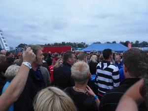 Wat een mensen menigte  in Assen