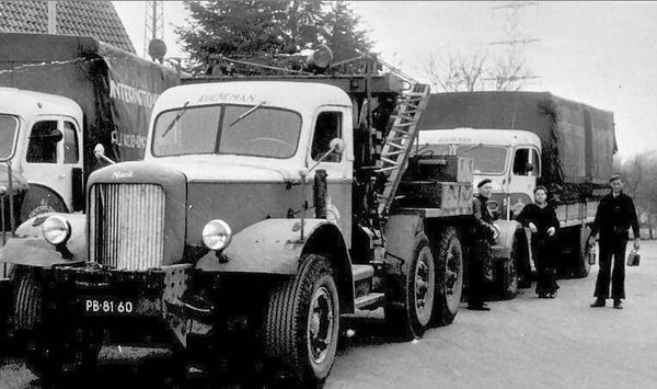 Mack Kraanwagen