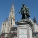 Antwerpen _Groenplaats,  standbeeld PP Rubens
