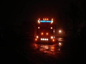 Heditrans - Ulrum   bij nacht