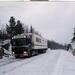 In Hudiksvall in de winter