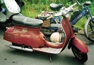 Triumph T10 scooter 1962