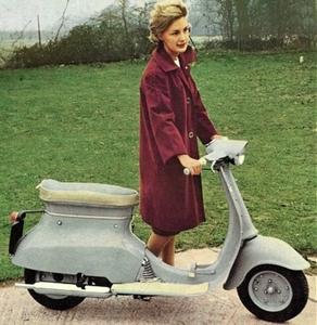 Triumph Tina scooter 1962
