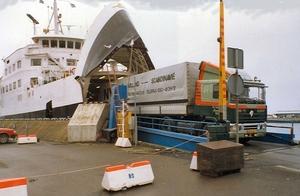 Boonstra Veerboot Helsingor - Helsingborg 1988