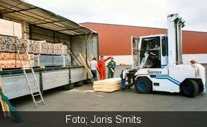 Houtladen in Farstorp, Zweden