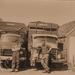 Chauffeurs Oene Boonstra en Teake van der Kaap