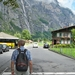 Op weg naar de bus