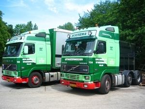 Boerema   2 X Volvo