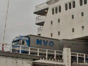 Bok - Roden  op de ferry