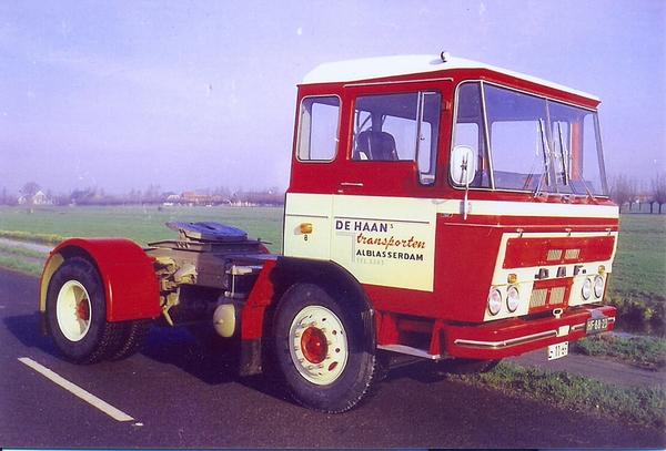 DAF-2600  DE HAAN  ALBLASSERDAM (NL)
