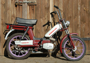 Garelli_Kreidler_Flory_Vip met Garelli motor 1982