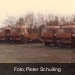 Oude trucks afgedankt