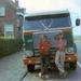 XF-34-83  Chauffeurs; Hidde Smits en Gerrit Laning