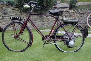 BSA. Winged Wheel 1952
