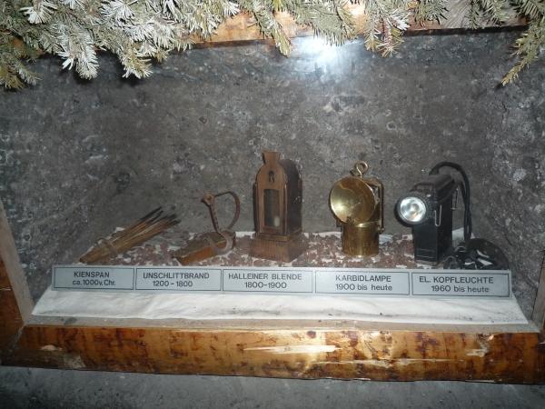 Hallein omg, Durrnberg, zoutmijn