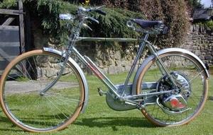 Cyclemaster 1954 verchroomd