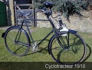 Cyclotracteur 1918