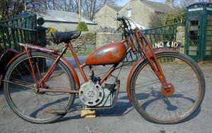 Ducati Cucciolo  Britax 1953