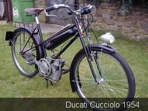 Ducati Cucciolo 1954