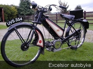 Excelsior Autobyke 1949..