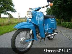 Simson KR51 1F 1968