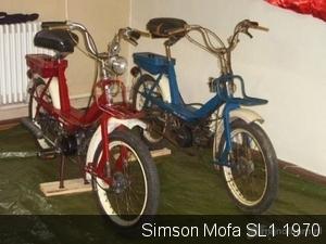 Simson Mofa SL1  1970