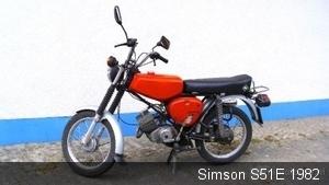 Simson S51E  1982