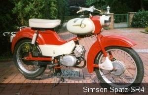 Simson Spatz SR4-1 P&K  1964