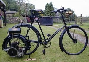 Wall auto wheel  1914