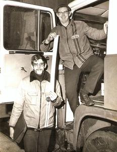 Henk Meijer en Klaas Danhof